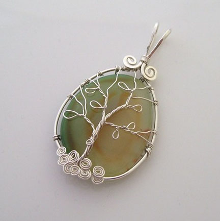 diy wire wrapped jewelry a dot