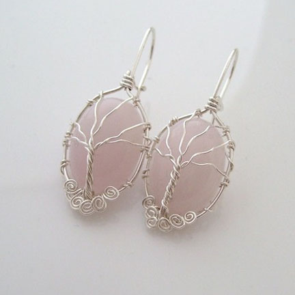 Lately Ive Been Wanting To Learn How To Make Wire Wrapped Jewelry These Gorgeous Pieces From Etsy Seller S Amie Jewelry Are The Types Of Pieces I