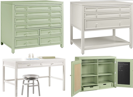 Martha stewart living craft space collection a girl for Martha stewart home decorators collection