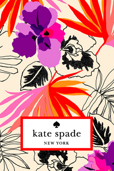 Kate Spade: Pattern of the Month | A Girl & Her Dot